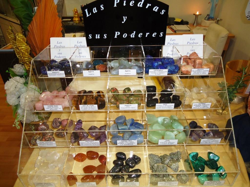 Piedras, cuarzos y minerales